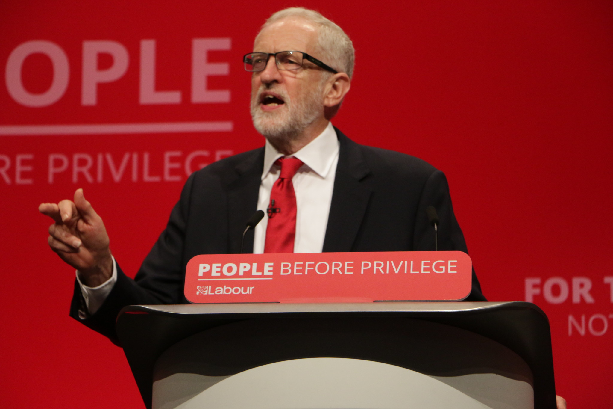 corbyn at conference