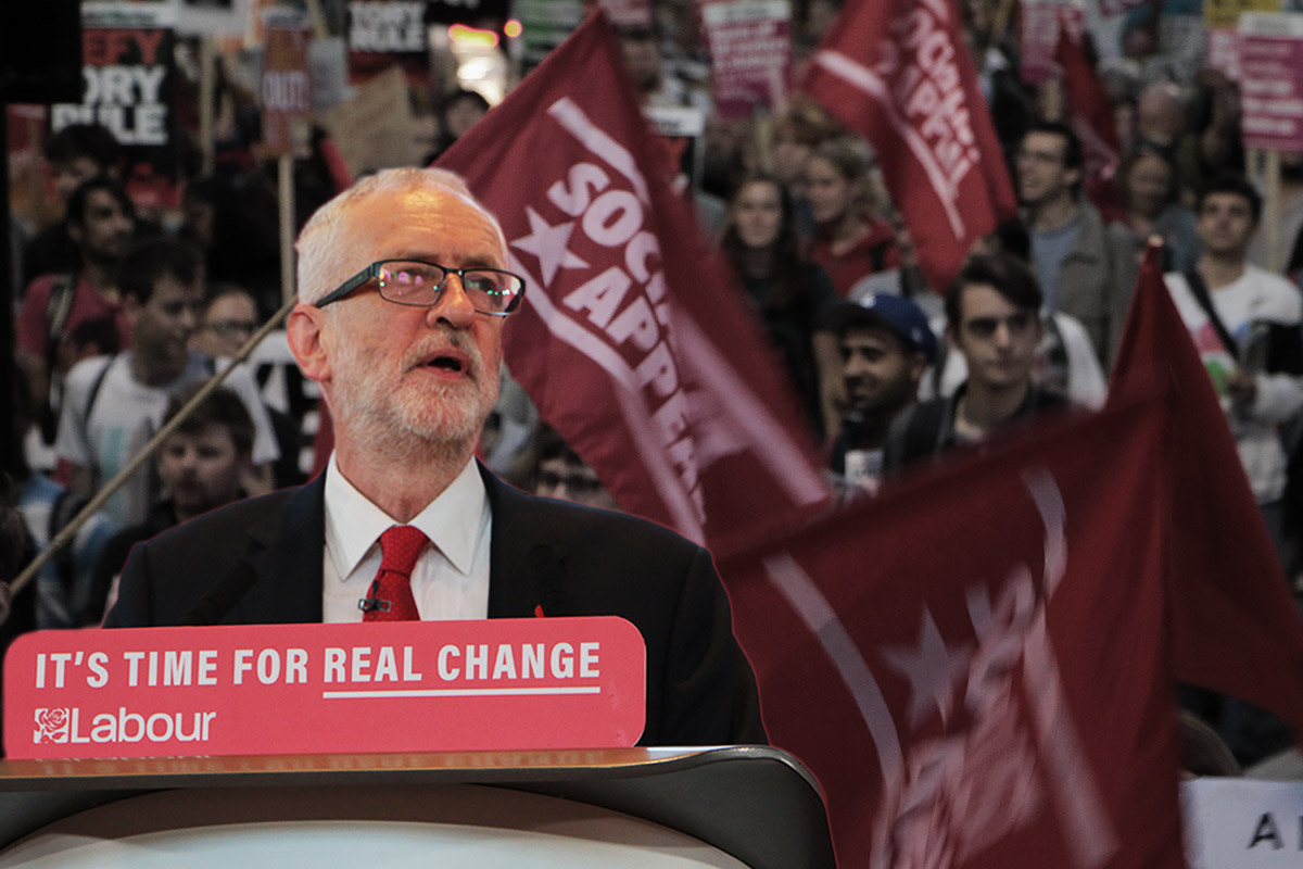 Corbyn real change demo 2019