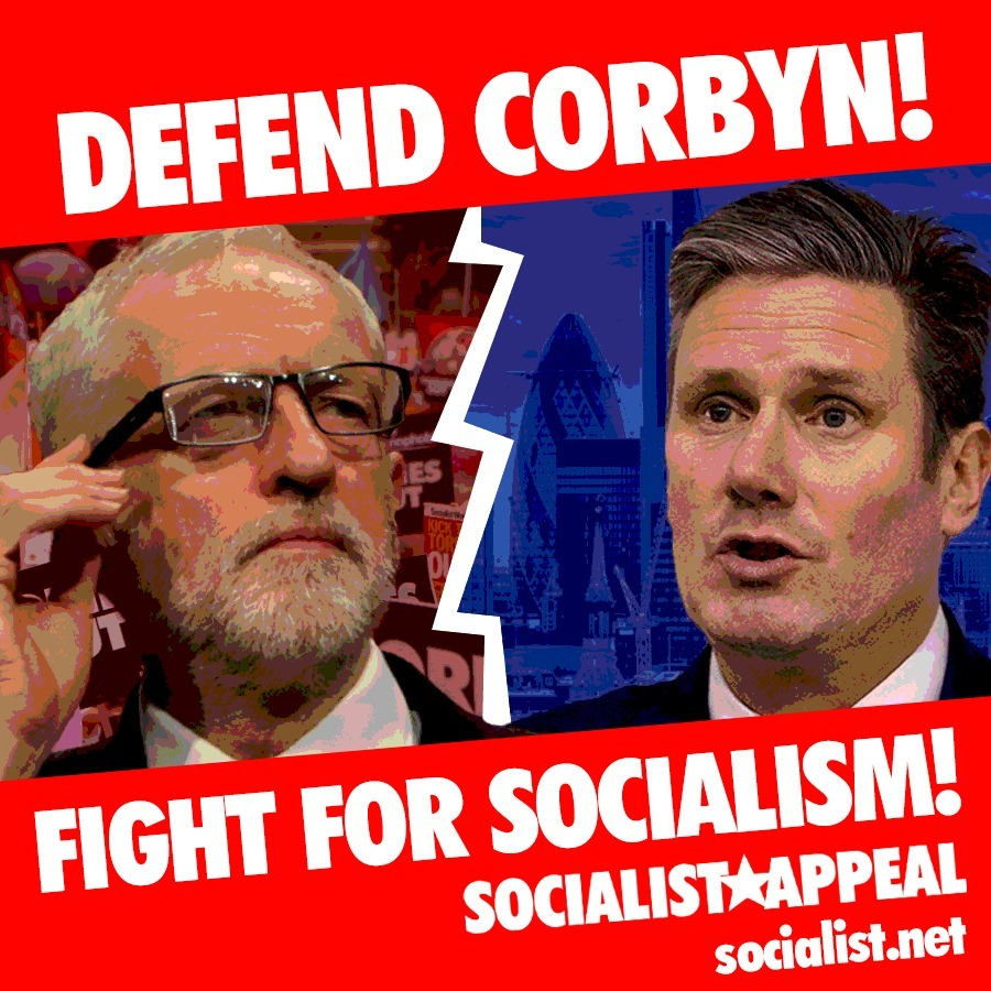Defend Corbyn Fight for Socialism square