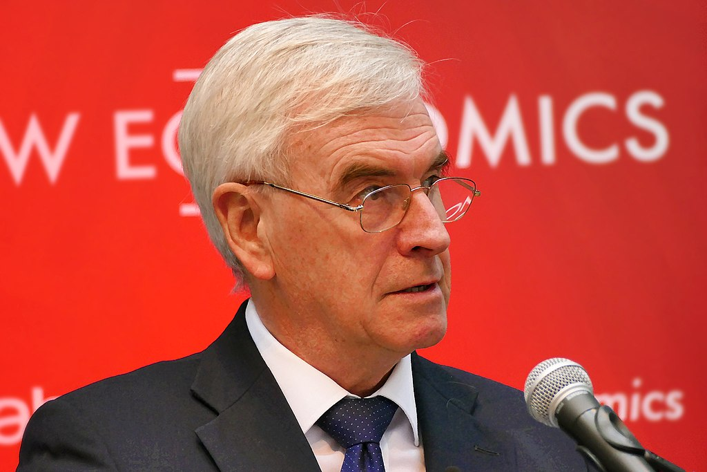 John McDonnell Shadow Chancellor