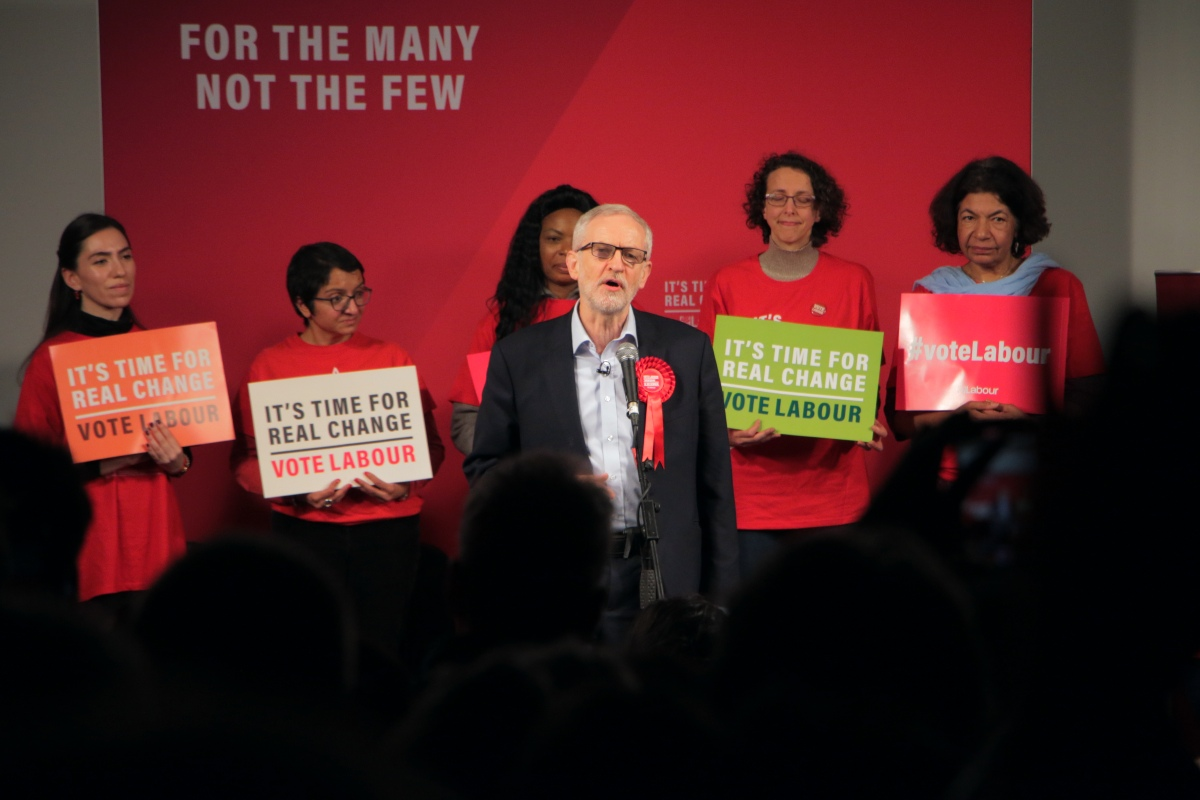 Labour election rally Corbyn Hackney Dec 2019 2
