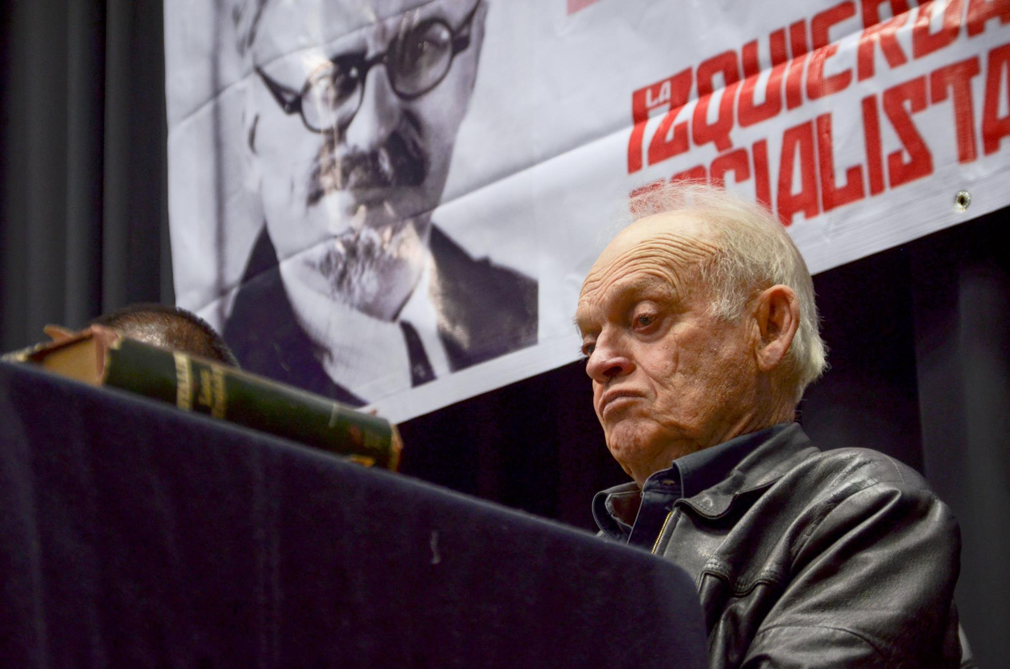 Volkov (Trotsky's grandson) speaks on the October Revolution