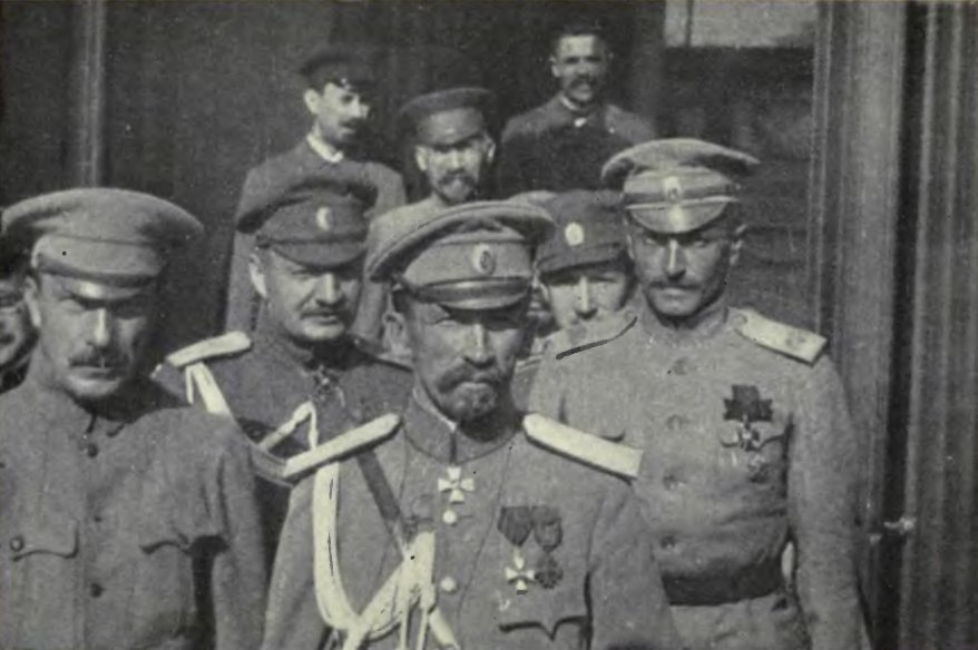 1917: The counter-revolutionary Kornilov coup