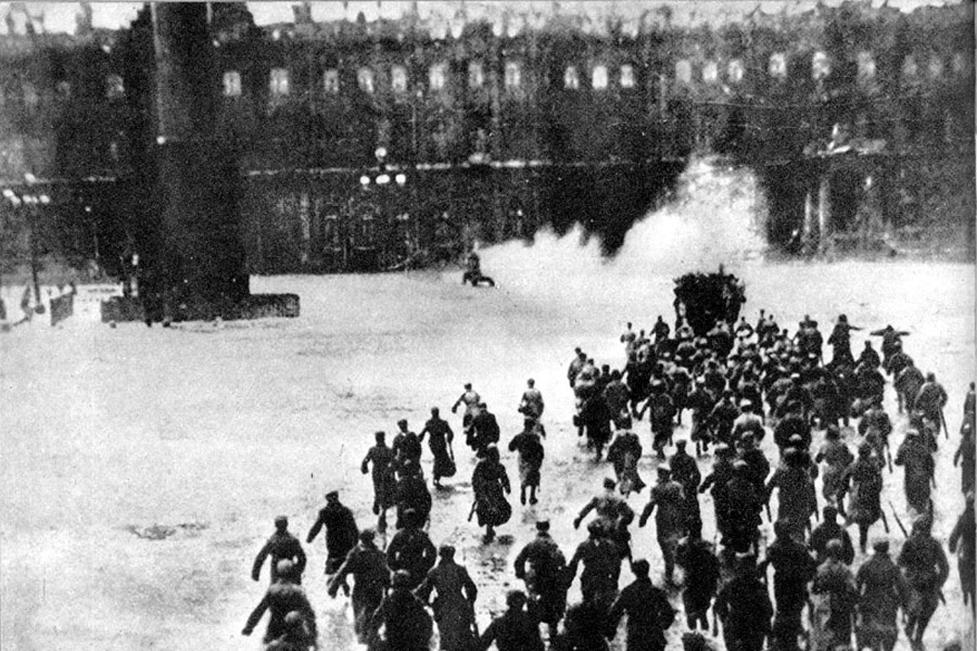 The October Revolution and the Art of Insurrection