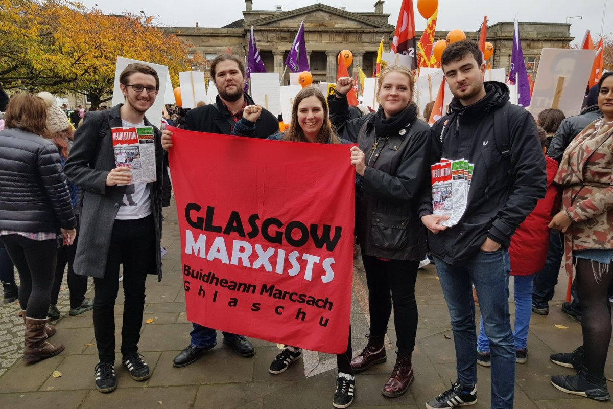 Glasgow council strike Oct 2018 1