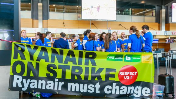 ryanair strike france