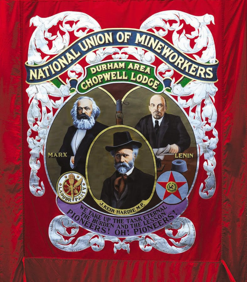 Miners chopwell banner