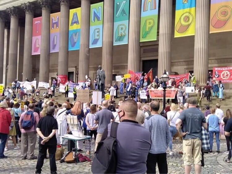 NHS pay15 demo liverpool