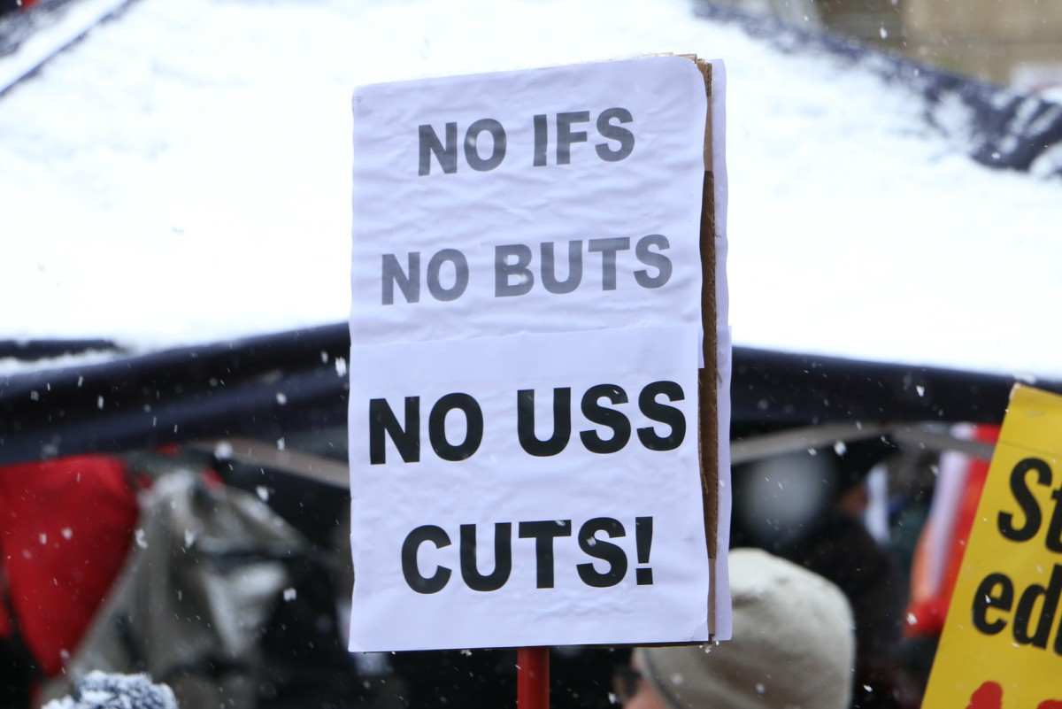 No USS cuts