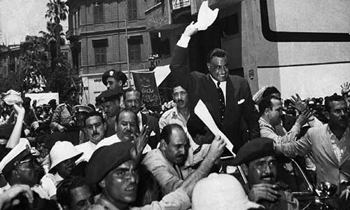 Nasser and the Arab revolution