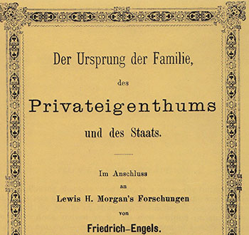 The Origins of the Family, Private Property, and the State