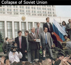 an introduction to the history of the collapse of the soviet union The union of soviet socialist republics (ussr) was a constitutionally  1985- 1991 reforms of gorbachev, collapse of the soviet union 3.